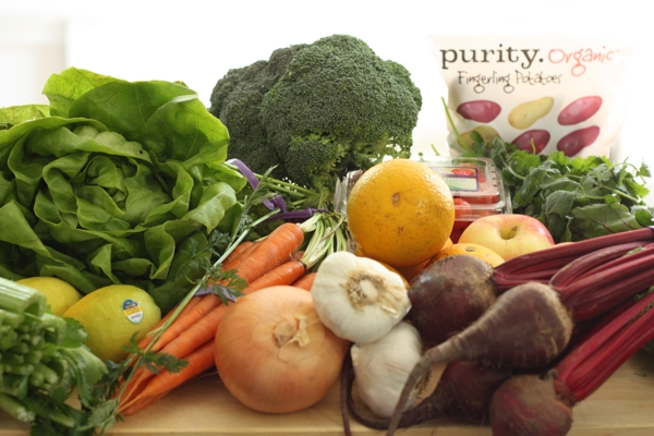 Healthy vegetables and fruits fuel the body and the brain