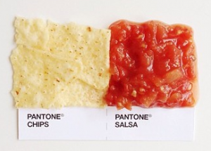 David Schwen Pantone Pairings project chips and salsa